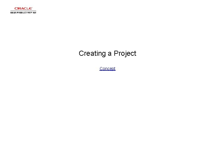 Creating a Project Concept