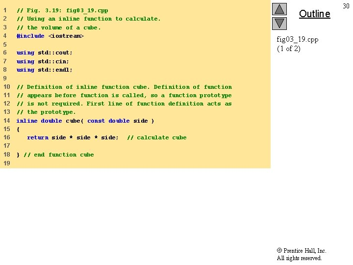 1 2 3 4 // Fig. 3. 19: fig 03_19. cpp // Using an