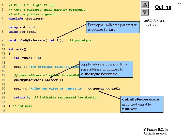 1 2 3 4 // Fig. 5. 7: fig 05_07. cpp // Cube a