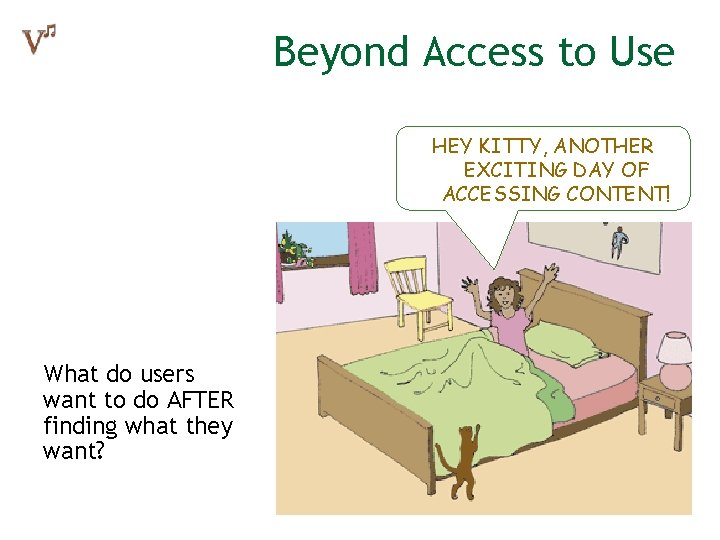 Beyond Access to Use HEY KITTY, ANOTHER EXCITING DAY OF ACCESSING CONTENT! What do