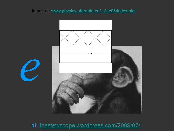 image at: www. physics. utoronto. ca/. . . /lec 05/index. htm e at: thestewscope.