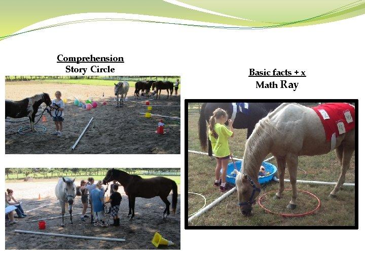 Comprehension Story Circle Basic facts + x Math Ray