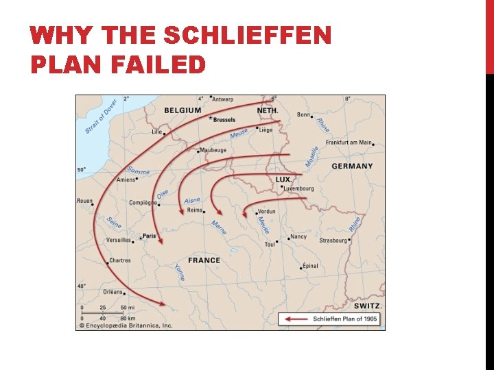 WHY THE SCHLIEFFEN PLAN FAILED