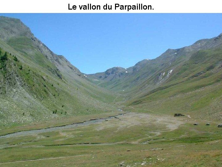 Le vallon du Parpaillon.