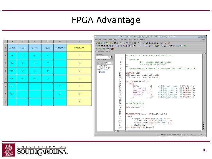 FPGA Advantage 10