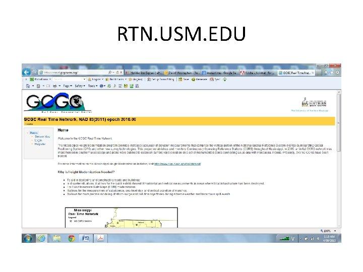 RTN. USM. EDU