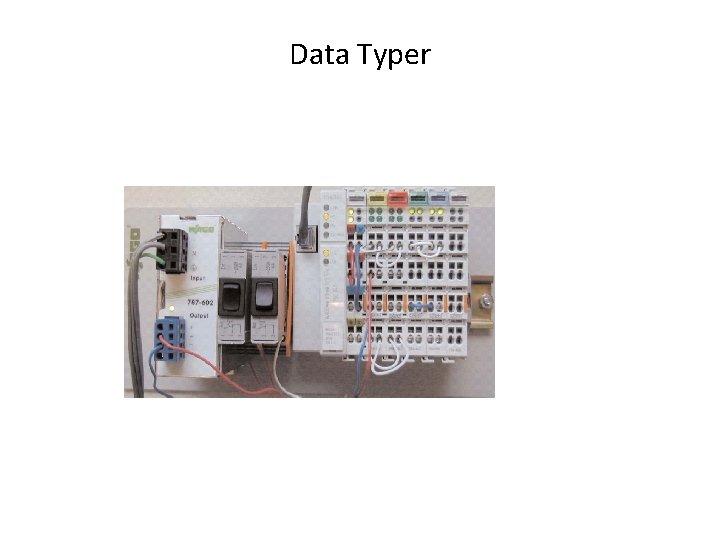 Data Typer