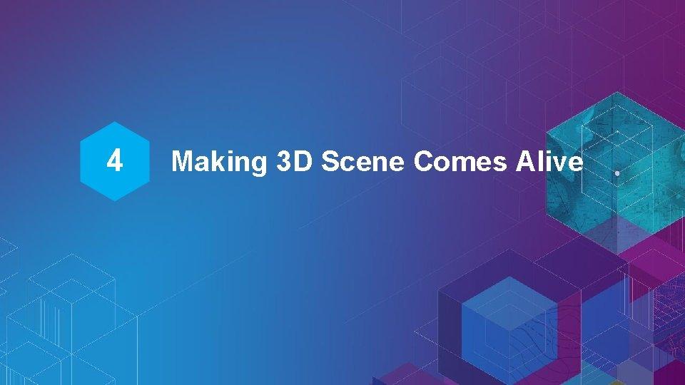 4 Making 3 D Scene Comes Alive