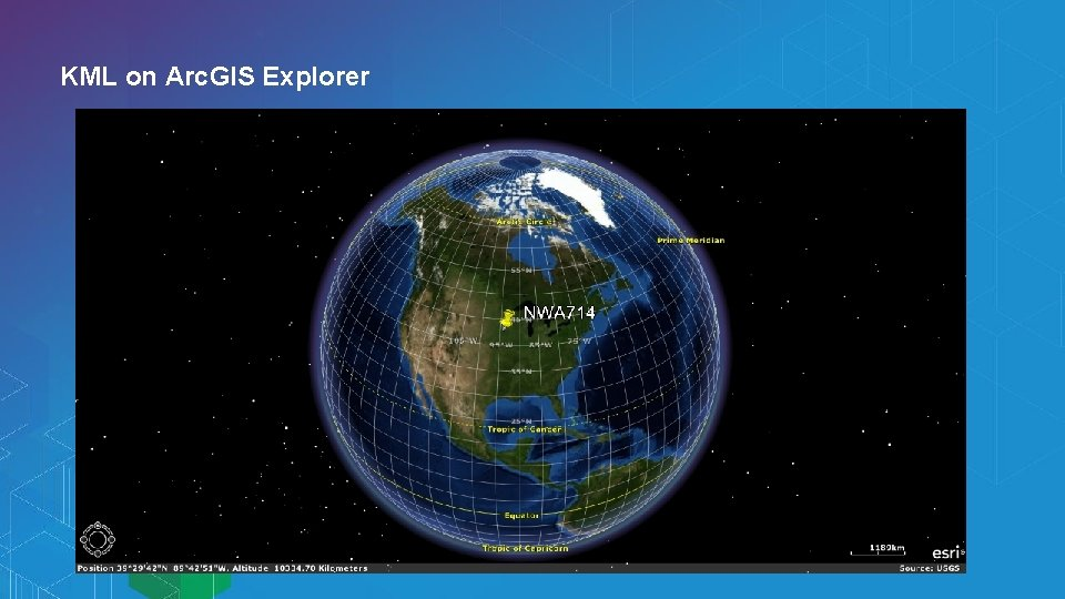 KML on Arc. GIS Explorer