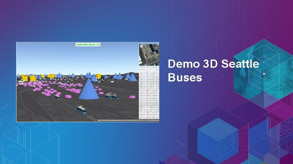 Demo 3 D Seattle Buses