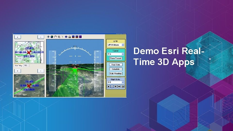 Demo Esri Real. Time 3 D Apps