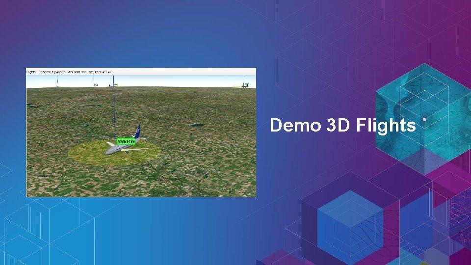 Demo 3 D Flights
