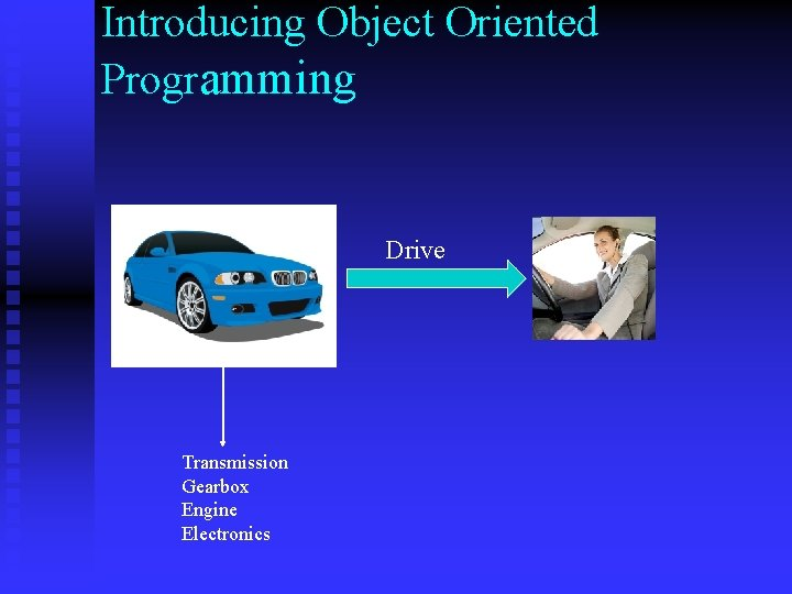 Introducing Object Oriented Programming Drive Transmission Gearbox Engine Electronics