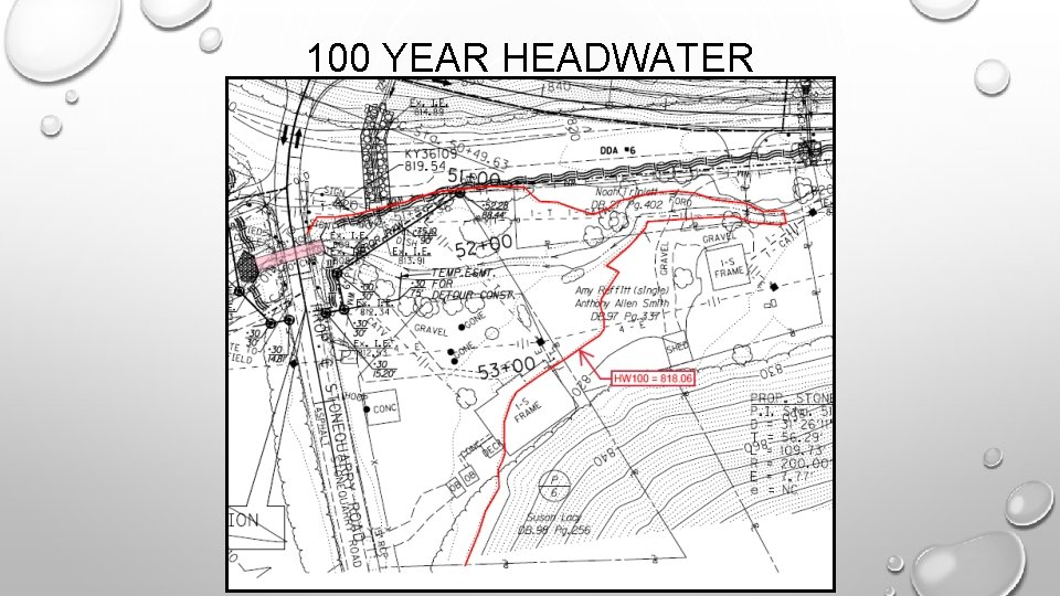 100 YEAR HEADWATER
