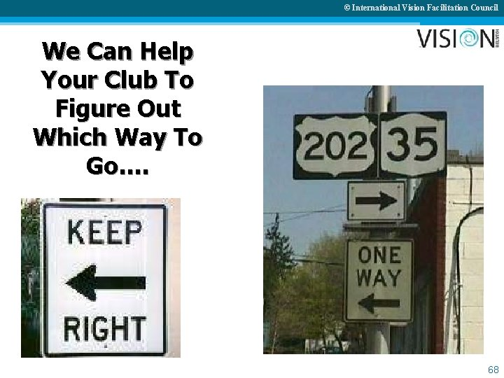© International Vision Facilitation Council We Can Help Your Club To Figure Out Which