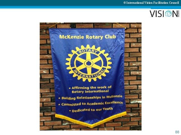 © International Vision Facilitation Council 88