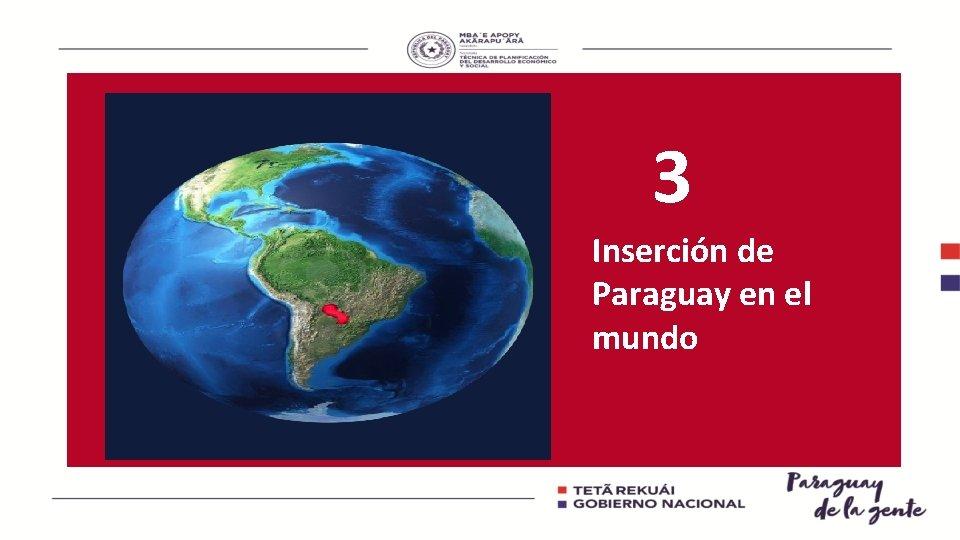 3 Inserción de Paraguay en el mundo
