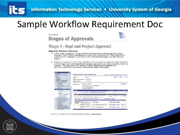 Sample Workflow Requirement Doc