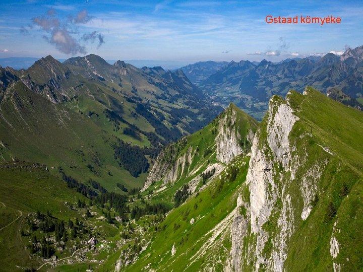 Gstaad környéke