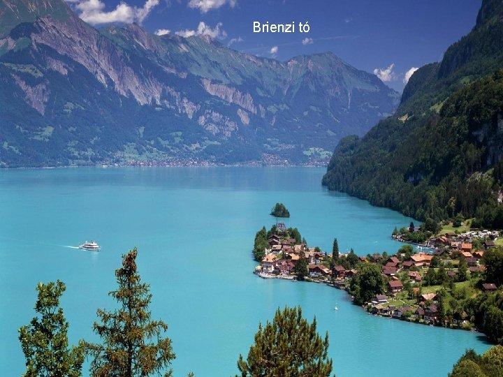 Brienzi tó