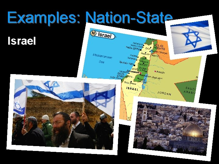 Examples: Nation-State Israel