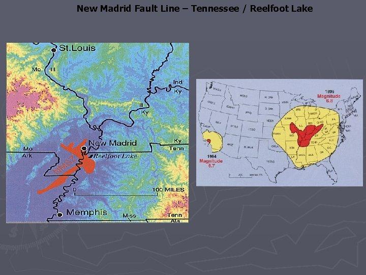 New Madrid Fault Line – Tennessee / Reelfoot Lake