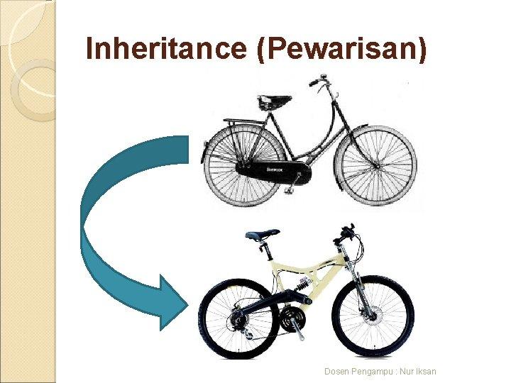 Inheritance (Pewarisan) Dosen Pengampu : Nur Iksan