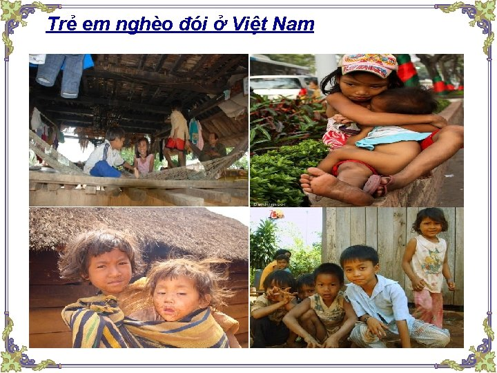 Trẻ em nghèo đói ở Việt Nam