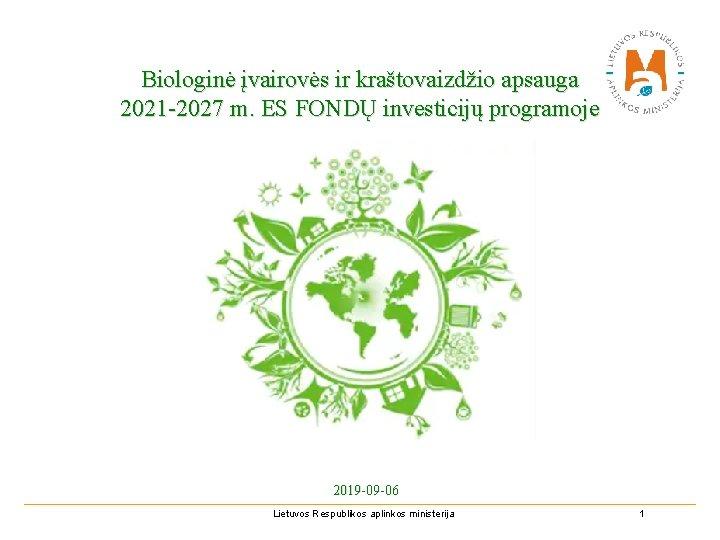 ES Biologinės įvairovės strategija iki 2030 m.