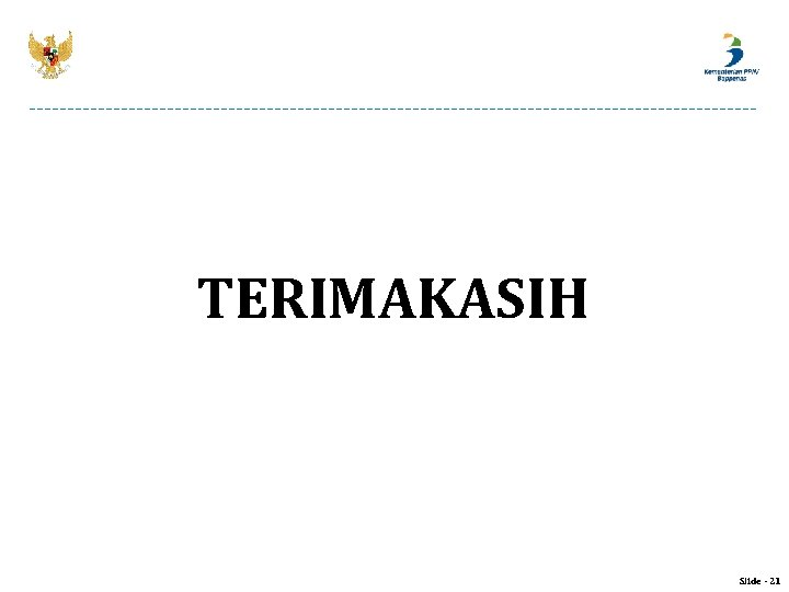 TERIMAKASIH Slide - 21
