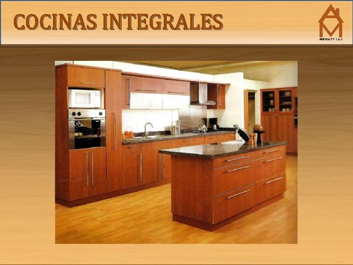 COCINAS INTEGRALES