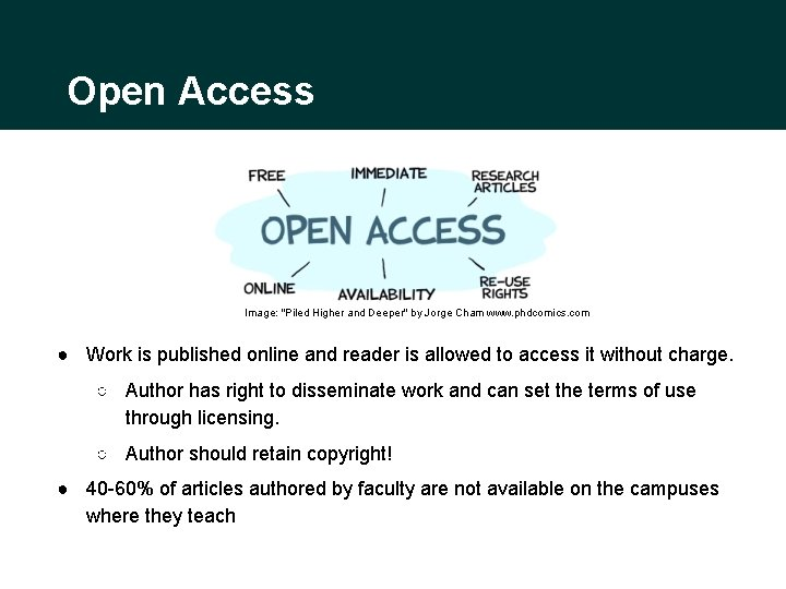 """Open Access Image: """"Piled Higher and Deeper"""" by Jorge Cham www. phdcomics. com ●"""