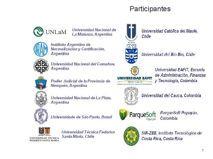 Participantes 7