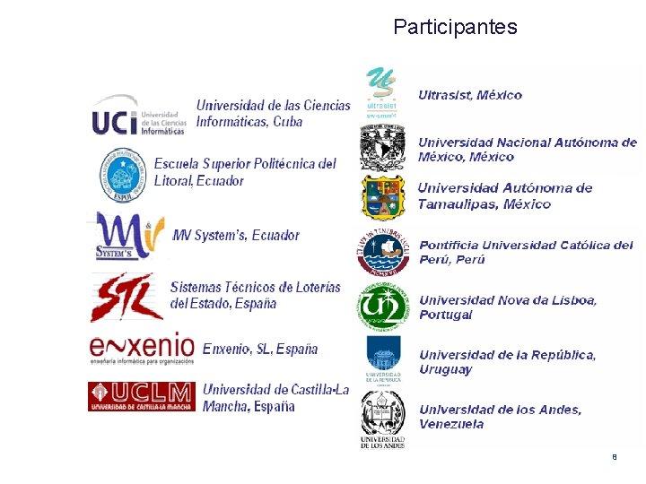 Participantes 8