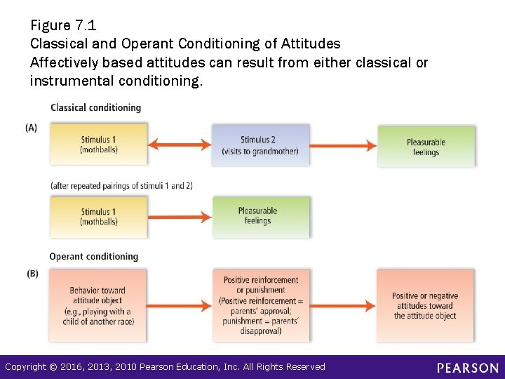 Figure 7. 1 Classical and Operant Conditioning of Attitudes Affectively based attitudes can result
