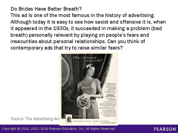 Do Brides Have Better Breath? This ad is one of the most famous in