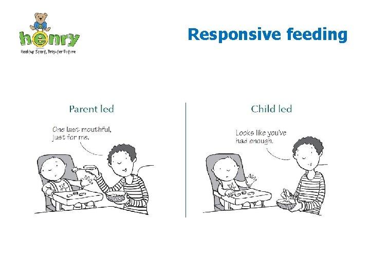 Responsive feeding