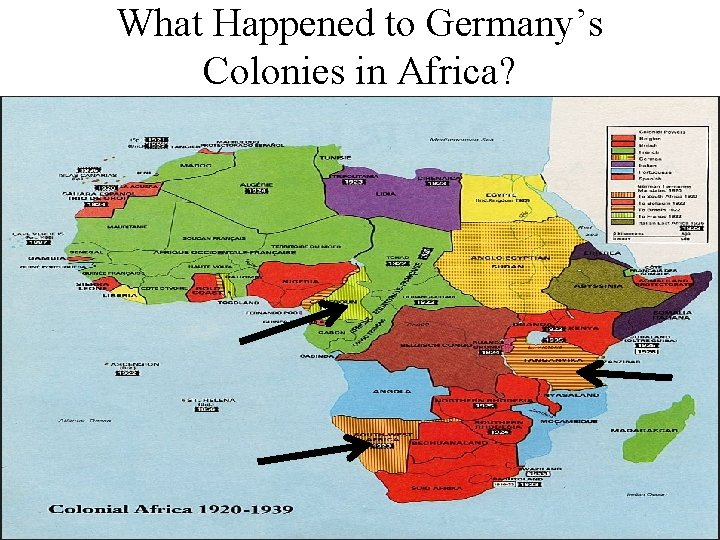 What Happened to Germany's Colonies in Africa?