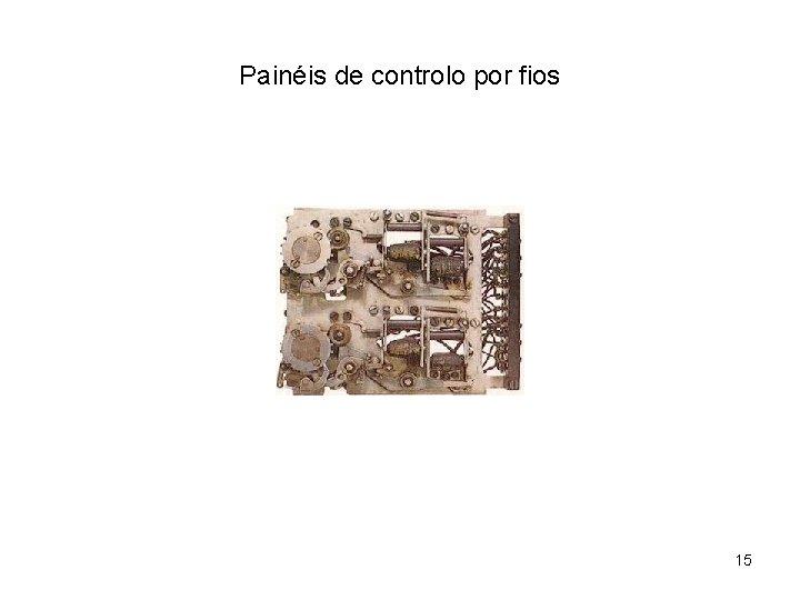 Painéis de controlo por fios 15