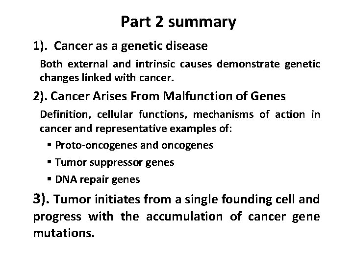 genetic cancer definition