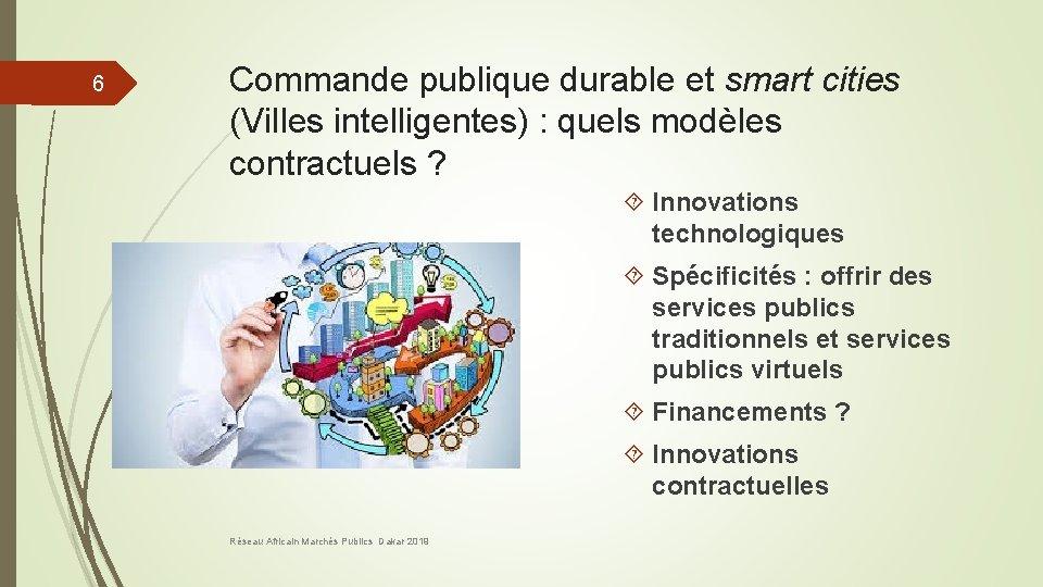 6 Commande publique durable et smart cities (Villes intelligentes) : quels modèles contractuels ?