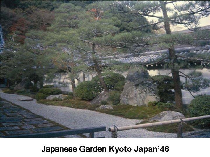 Japanese Garden Kyoto Japan' 46