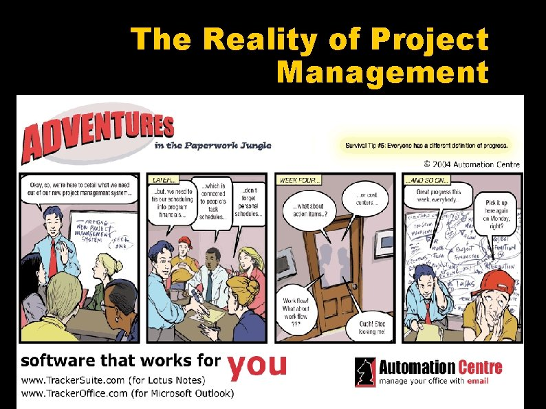 The Reality of Project Management
