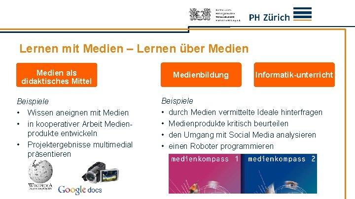 Lernen mit Medien – Lernen über Medien als didaktisches Mittel Beispiele • Wissen aneignen