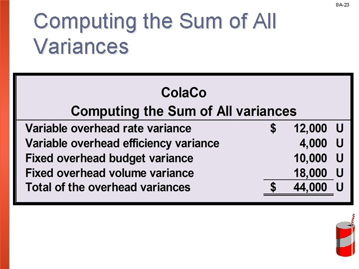 8 A-23 Computing the Sum of All Variances