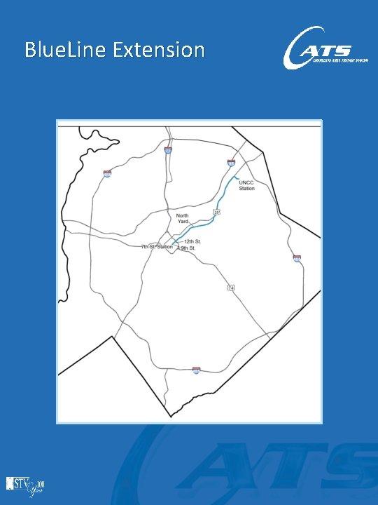 Blue. Line Extension