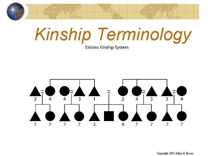 Kinship Terminology Copyright 2005 Allyn & Bacon