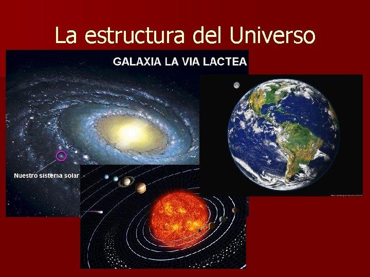 La estructura del Universo