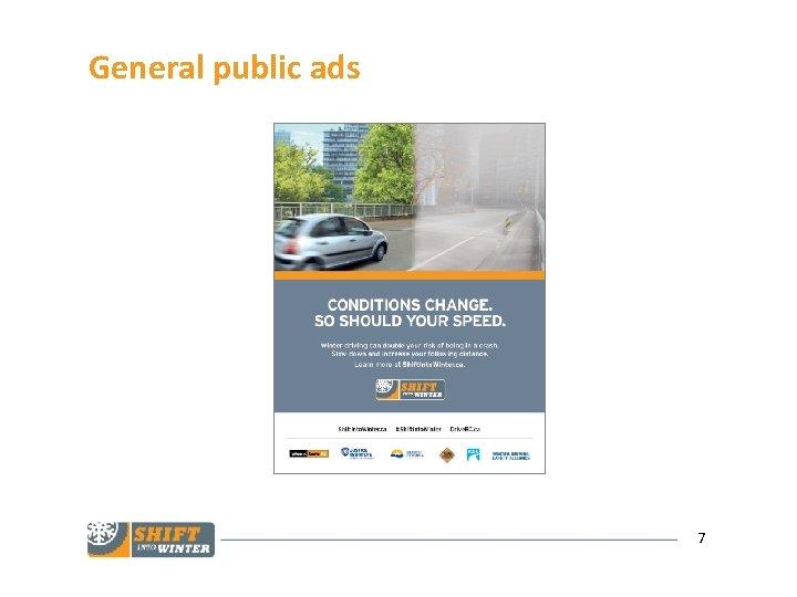General public ads 7