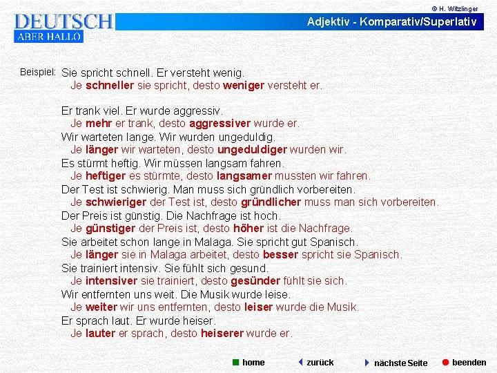 Die 200 Wichtigsten Deutschen Adjektive Beispiele 9